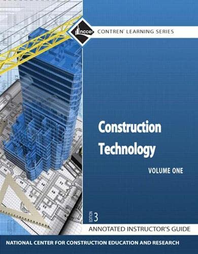 9780136099529: Construction Technology AIG (3rd Edition) (Contren Learning Series)