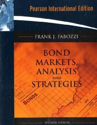 9780136099741: Bond Markets, Analysis, and Strategies