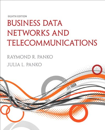 Business Data Networks and Telecommunications (8th Edition): Panko, Raymond R.;