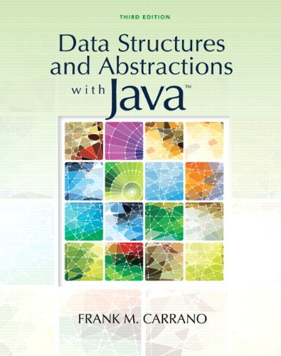 9780136100911: Data Structures and Abstractions with Java (3rd Edition)