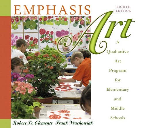 9780136101055: Emphasis Art: A Qualitative Art Program for Elementary and Middle Schools (with MyEducationLab) (9th Edition)