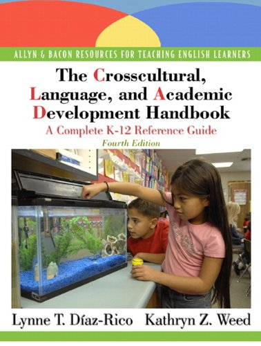 9780136101086: The Crosscultural, Language, and Academic Development Handbook: A Complete K-12 Reference Guide (with MyEducationLab) (4th Edition)