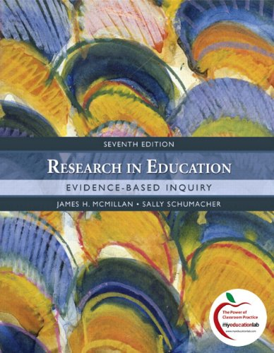 9780136101338: Research in Education: Evidence-Based Inquiry (with MyEducationLab) (7th Edition)