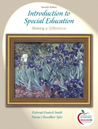 9780136101390: Introduction to Special Education: Making A Difference (with MyEducationLab) (7th Edition)