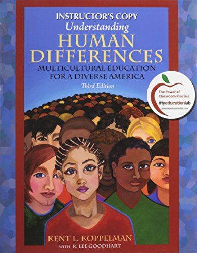 Understanding Human Differences - Multicultural Education for: Kent L. Koppelman,