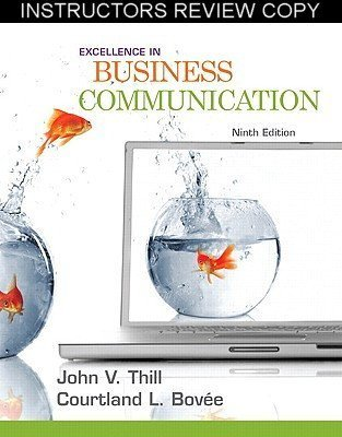 9780136103837: Excellence in Business Communication: Ninth Edition (Instructor Review Copy) (Business Communication