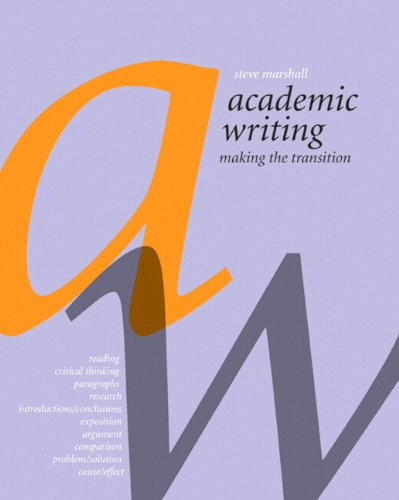 9780136103905: Academic Writing: Making the Transition