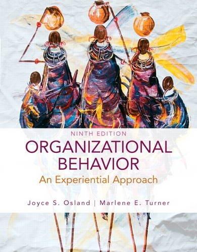9780136106852: Organizational Behavior: An Experiential Approach