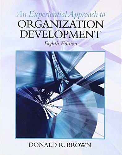 9780136106890: Experiential Approach to Organization Development