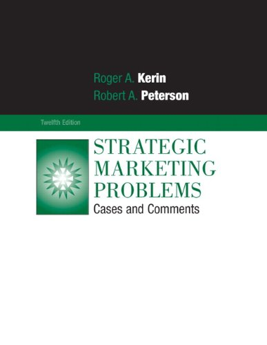 9780136107064: Strategic Marketing Problems: Cases and Comments: United States Edition