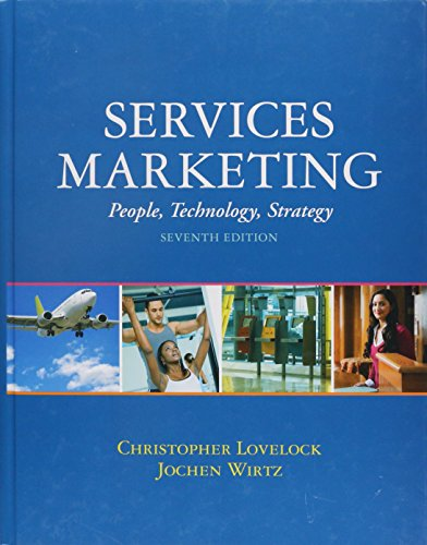 9780136107217: Services Marketing:People, Technology, Strategy