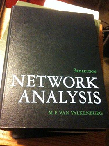 9780136110958: Network Analysis