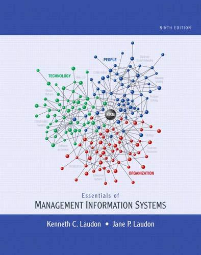 9780136110996: Essentials of Management Information Systems