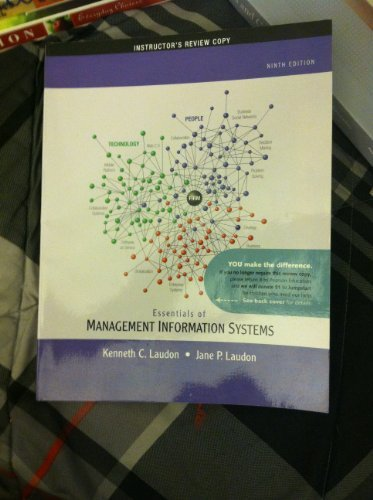9780136111023: Essentials of Management Information Systems: Instructor's Review Copy
