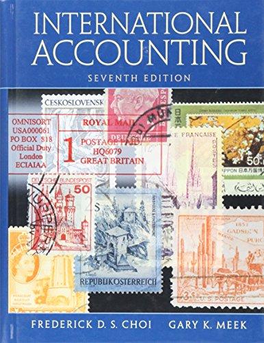 9780136111474: International Accounting (7th Edition)