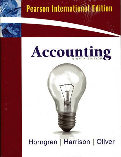 9780136112907: Accounting, Chapter 1-23 & MyAccountingLab with Full EBook Student Access Card: International Version