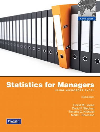 9780136113492: Statistics for Managers using MS Excel: Global Edition