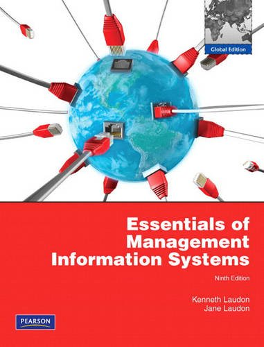 Essentials of Management Information Systems (MIS): Laudon, Kenneth C.,