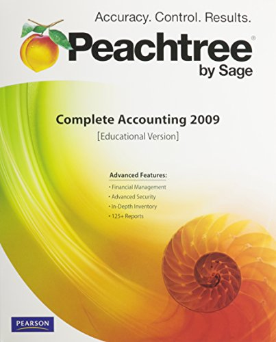 9780136114857: CD Peachtree Complete 2009