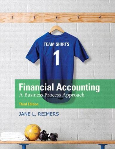 Financial Accounting: Business Process Approach (Hardback): Jane L. Reimers