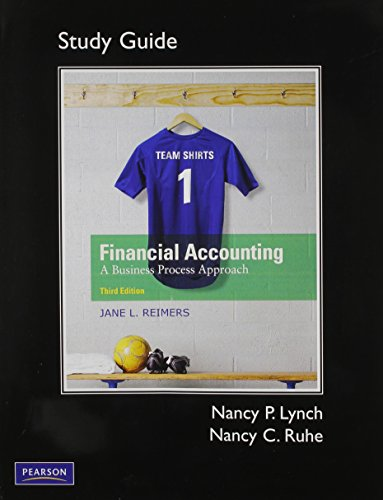 9780136115304: Study Guide and PowerNotes for Financial Accounting: A Business Process Approach