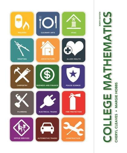 9780136116325: College Mathematics (9th Edition)