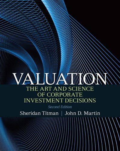 9780136117018: Valuation (2nd Edition) (Prentice Hall Series in Finance)