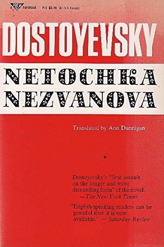 9780136117315: Netochka Nezvanova (A prism paperback)