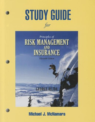 9780136117940: Study Guide for Principles of Risk Management and Insurance