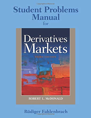 9780136117957: Student Problem Manual for Derivatives Markets: Volume 3
