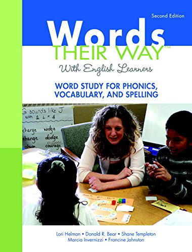 9780136119029: Words Their Way with English Learners: Word Study for Phonics, Vocabulary, and Spelling (2nd Edition) (Words Their Way Series)