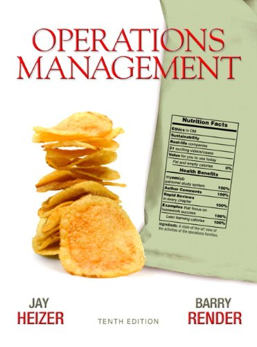 9780136119418: Operations Management (10th Edition)