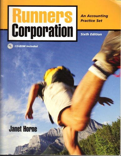 9780136120261: Runners Corporation Manual for Accounting, Chapters 1-23