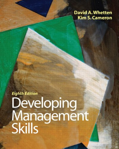 9780136121008: Developing Management Skills (8th Edition)