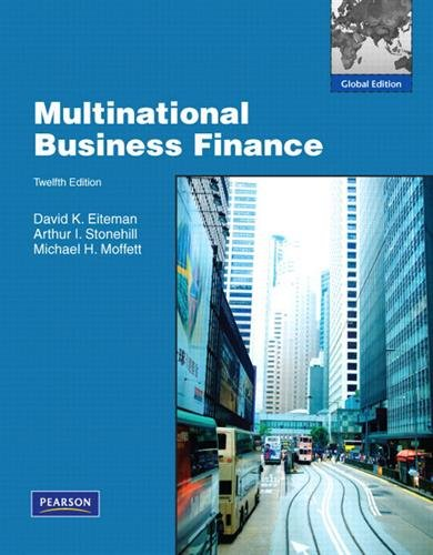 9780136121565: Multinational Business Finance