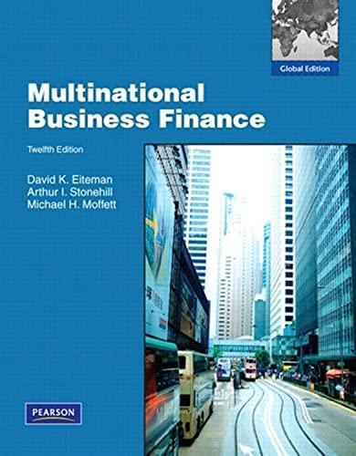 9780136121565: Multinational Business Finance: Global Edition