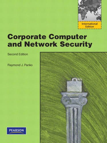 9780136121572: Corporate Computer and Network Security