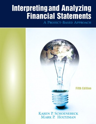 9780136121985: Interpreting and Analyzing Financial Statements (5th Edition)