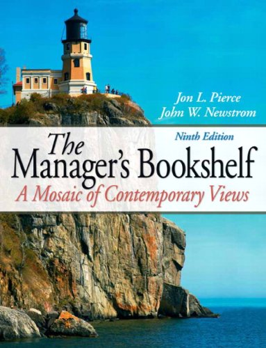 9780136122500: The Manager's Bookshelf: A Mosiac of Contemporary Views