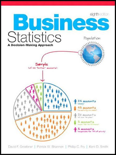 9780136122548: Business Statistics (A Decision-Making Approach, Eight edition)