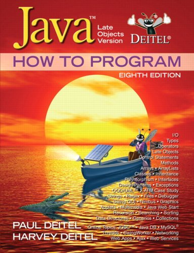 9780136123712: Java How to Program: Late Objects Version (8th Edition)