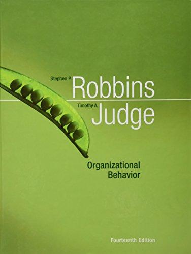9780136124016: Organizational Behavior (14th Edition)