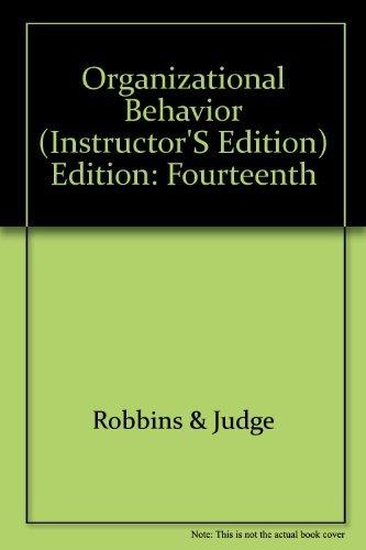9780136124382: Organizational Behavior