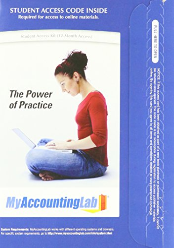 9780136125617: My Accounting Lab