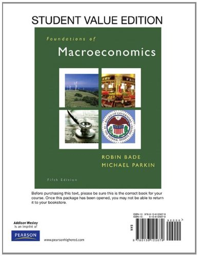 9780136125679: Foundations of Macroeconomics, Student Value Edition (5th Edition)