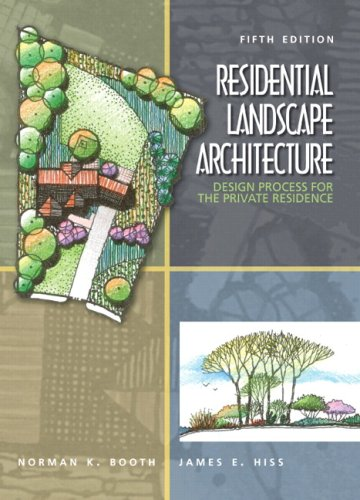 9780136126973: Residential Landscape Architecture: Design Process for the Private Residence