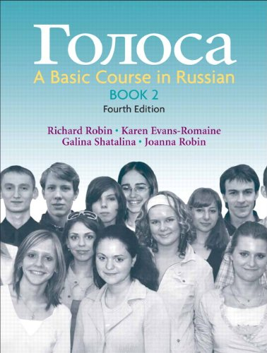 9780136127376: Golosa, Book 2: A Basic Course in Russian (4th Edition) (Bk. 2)