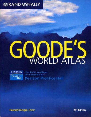 9780136128243: Goode's Atlas (21st Edition)
