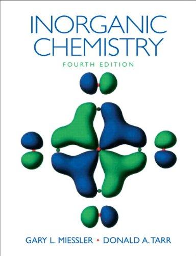 Inorganic Chemistry (4th Edition): Miessler, Gary L.;