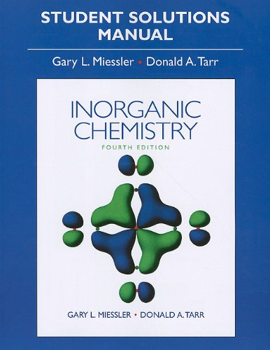 9780136128670: Solution Manual for Inorganic Chemistry